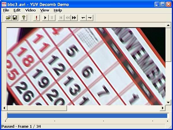 YUVsoft Decomb (Deinterlace) Demo