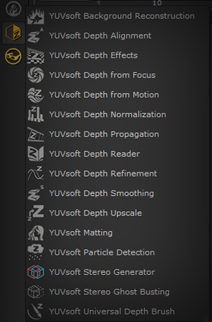 YUVsoft plugins